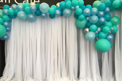 Water Style Organic Balloon Garland