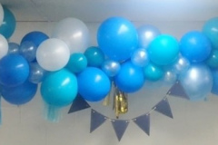 Baby Boy Balloon Garland