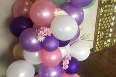 Pretty Pastel Balloon Garland