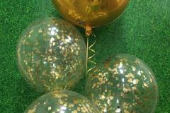 Gold Confetti & Orbz Bouquet