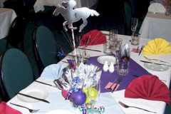 Traditional Horse Centerpiece