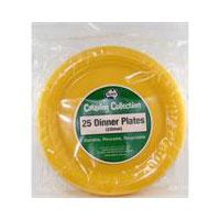 Dinner Plates Yellow