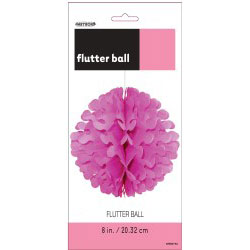 Pink Flutter Ball