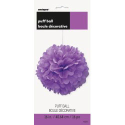 Puff Ball Pretty Purple