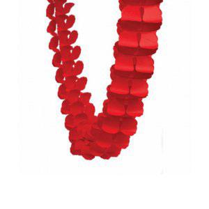 Honeycomb Garland Red