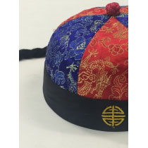 Chinese Fabric Hat with Plait