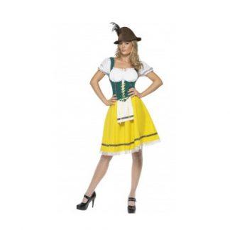 Oktoberfest Dress with Apron
