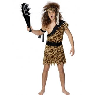 Caveman Costume, Leopard Print