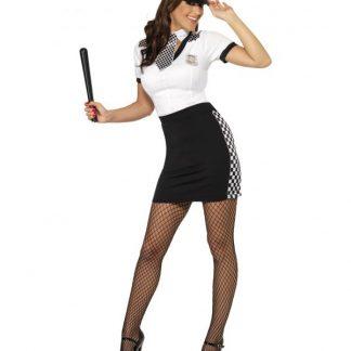 Cop Costume Black and White