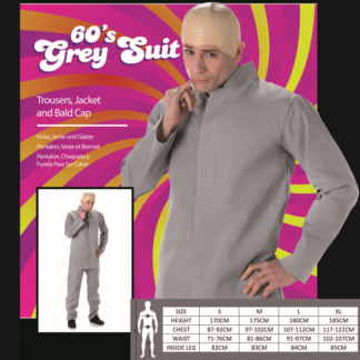 60's Grey Suit
