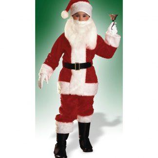 Child Santa Suit - Plush