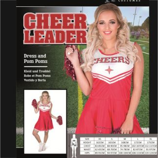 Red Cheer Leader