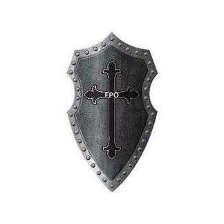 Medieval Crossbone Shield