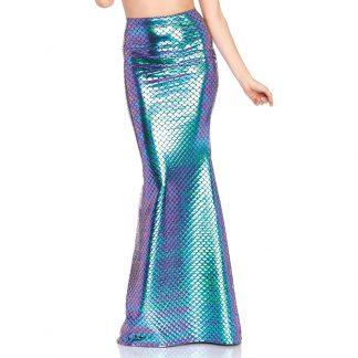 Iridescent Scale Mermaid Skirt Small