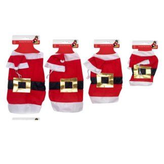 Dog Santa Outfit 2pc 3sizes