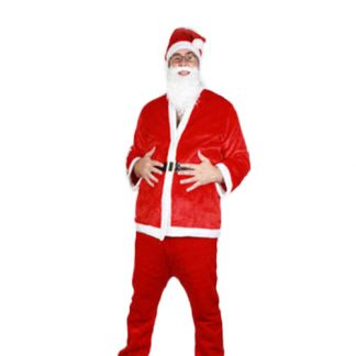 5Pc Deluxe Santa Outfit