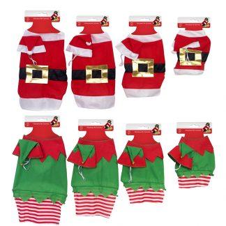 Pet Costume 2pc Santa/Elf