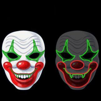 Luminous Clown Mask