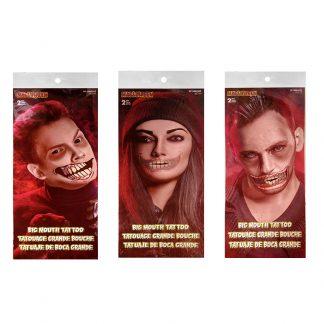 Halloween Mouth Tattoo