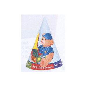 1st Birthday Hats Pk 8