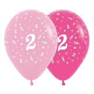 30cm Age 2 Pink Latex