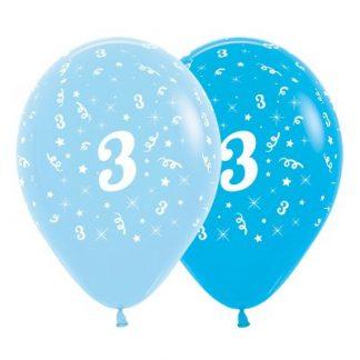 30cm Age 3 Blue Latex