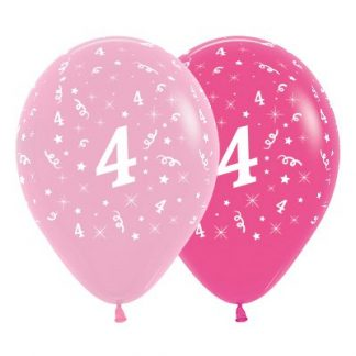 30cm Age 4 Pink Latex