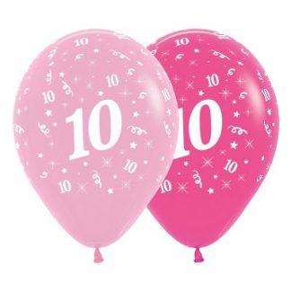 30cm Age 10 Pink Latex