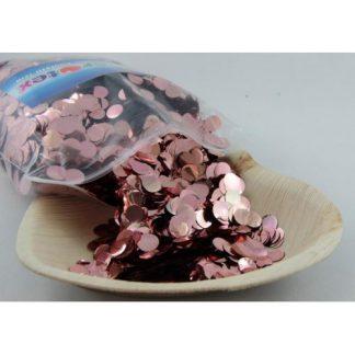 Confetti Metallic 1cm Rose Gold 250 grams