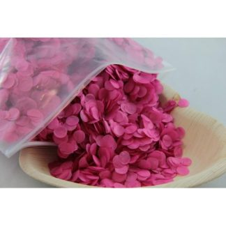 Confetti Tissue 1cm Hot Pink 250 grams