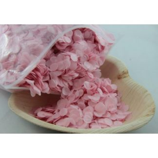 Confetti Tissue 1cm Light Pink 250 grams