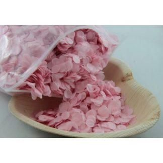Confetti Tissue 1cm Light Pink 250 grams