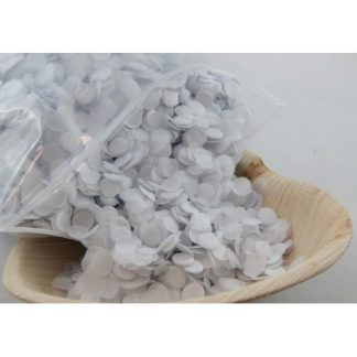 Confetti Tissue 1cm White 250 grams