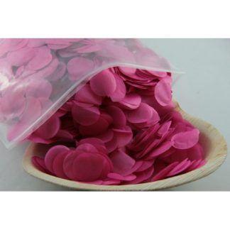 Confetti Tissue 2.3cm Hot Pink 250 grams