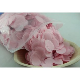 Confetti Tissue 2.3cm Light Pink 250 grams