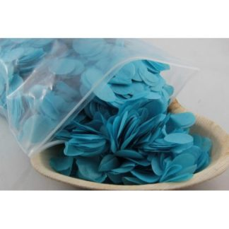 Confetti Tissue 2.3cm Light Blue 250 grams