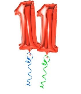 Balloons Letters & Numbers