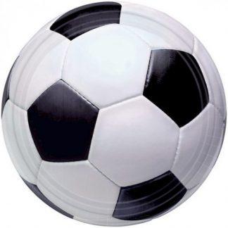 Soccer 17cm Round Plates