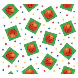 Basketball Tablecover Plastic