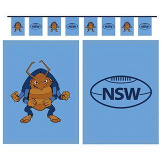 NSW Flag Pennant Banner