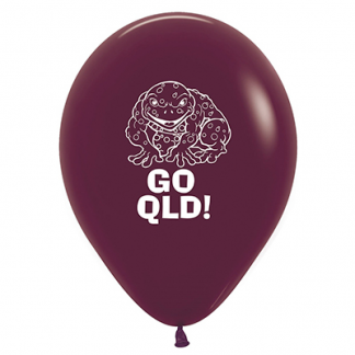 30cm Pk25 QLD Cane Toad Latex Balloons
