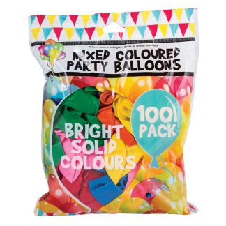 Balloons Mixed Col. 100pk