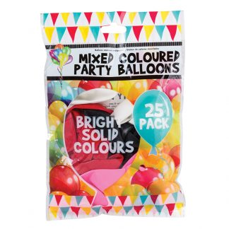 Balloons Mixed Col. 25pk