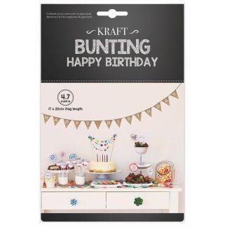Bunting Happy Birthday