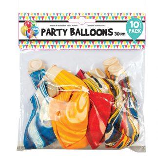 Balloon Marble Des 10pk