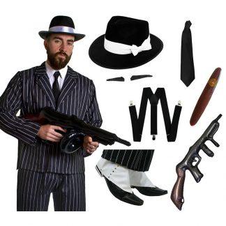 1920's Gangster Dress Up Kit