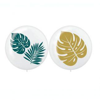 60cm Palm Leaves Latex