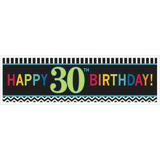 30th Birthday Giant Banner