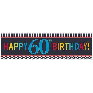 60th BirthdayGiant Banner
