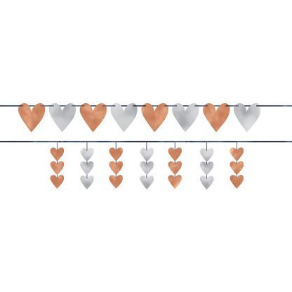 Bride Hearts Banners Kit